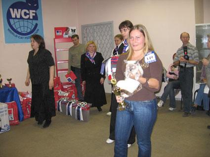 выствки кошек в москве ноябрь 2006 г: